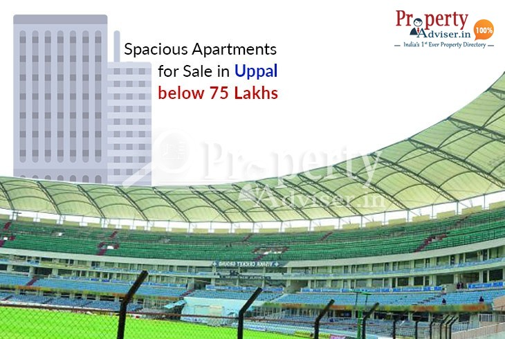 Apartments for Sale in Uppal below 75 lakhs