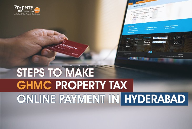 Steps for GHMC Property Tax Online Payment in Hyderabad