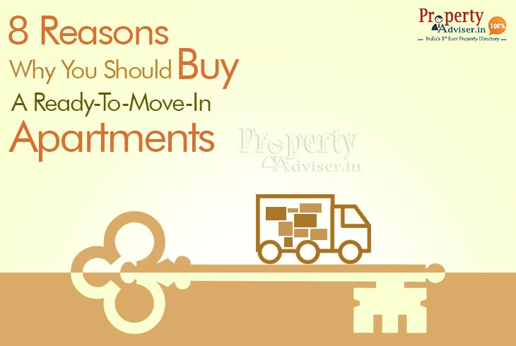 Top 8 Reasons to a Ready -To-Move Apartments