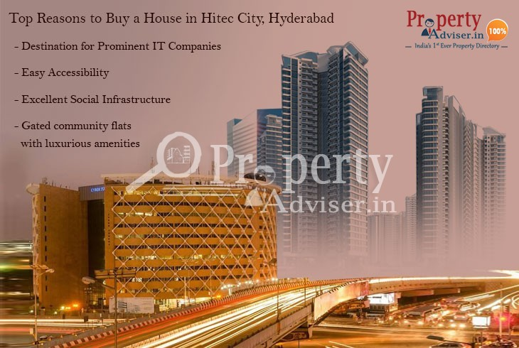 Top Reasons to Buy a House in Hitec City, Hyderabad