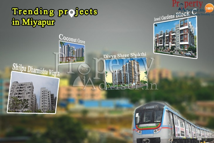 Trending projects in Miyapur Hyderabad