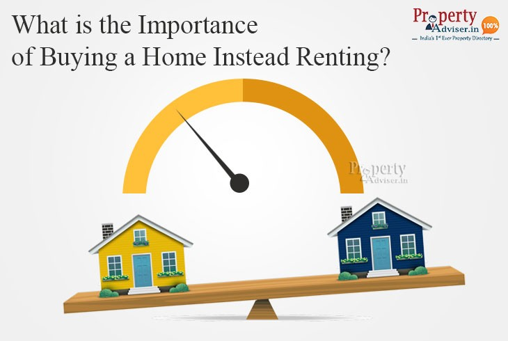 What is the Importance of Buying a Home Instead of Renting?