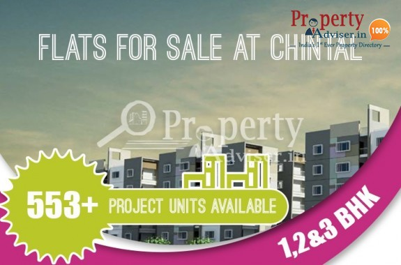 Flats for Sale at Chintal, Hyderabad from Rs.23 lakhs