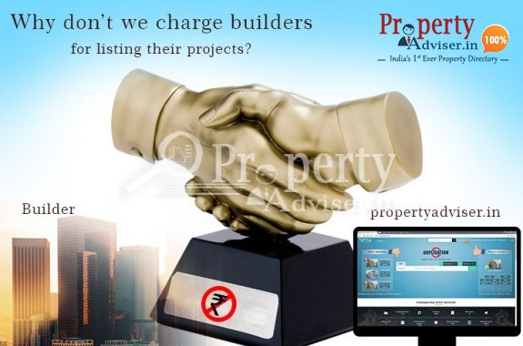 List the projects for free on Property  Adviser