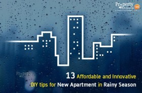 13 Affordable and Innovative DIYs for New Apartment In Rainy Season