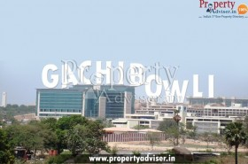 Gachibowli is a Fast Developing Area to buy Residential House