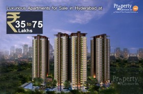 Luxurious Apartments for Sale in Hyderabad below 75 Lakhs