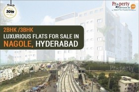 2BHK and 3BHK Luxurious Flats for Sale in Nagole, Hyderabad