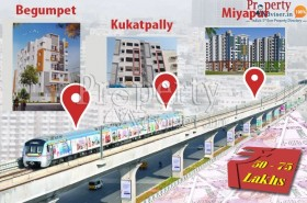 Affordable Projects at Kukatpally Miyapur and Begumpet in Hyderabad