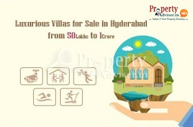 Villas in Hyderabad Starting from 50 Lakhs