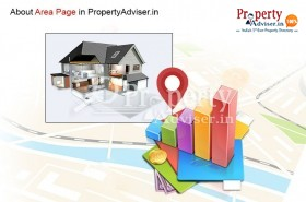 Area Page in Property Adviser to buy a house