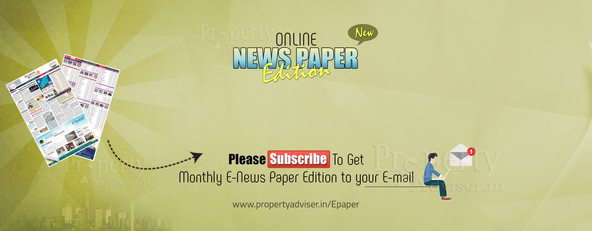 All Residential Projects of Hyderabad are available on Epaper with Market Trends