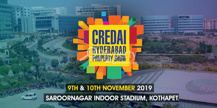 Credai hyderabad property show